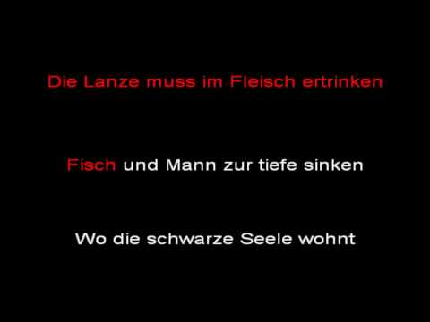 Rammstein - Reise, Reise (instrumental with lyrics)
