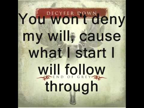 Decyfer Down - Fight Like This - (lyrics)