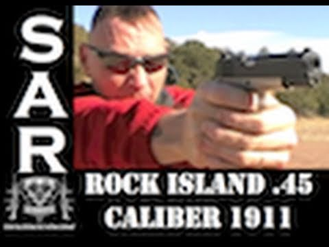 Testing the Rock Island .45 Caliber 1911