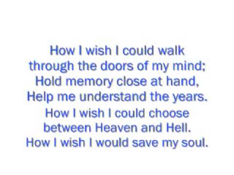 Tears and Rain by James Blunt with lyrics.