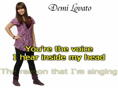 Demi Lovato - This Is Me (Acoustic Version) - Karaoke