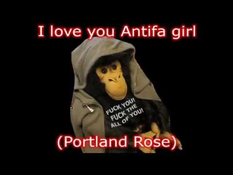 I Love You Antifa Girl (Portland Rose)