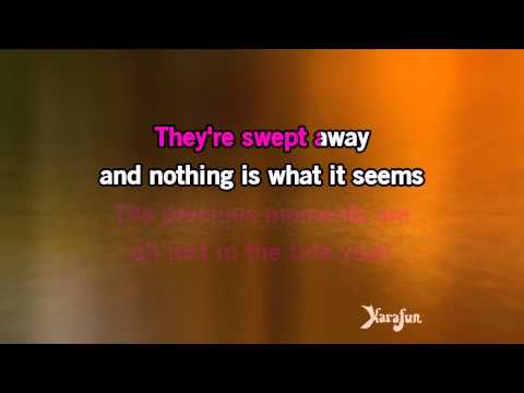 Karaoke Listen To Your Heart (piano version) - D.H.T. *