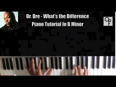 Dr Dre - Whats The Difference (Feat. Xzibit & Eminem) Piano Tutorial (ACCURATE)