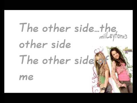 Hannah Montana - The other side of me [w/Lyrics] HQ