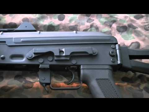 Airsoft Review   Tech The Cyma steel AKS 74U, CM045A, review chrono