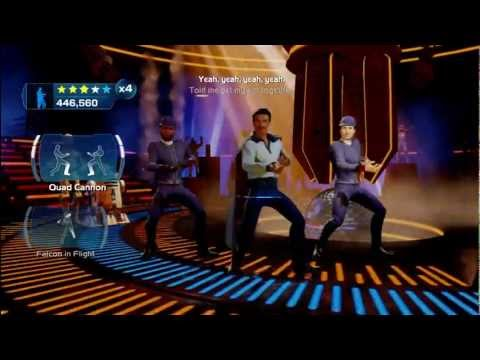 Kinect Star Wars: Galactic Dance Off - I'm Han Solo(Extended) + Going Somewhere, Solo? Achievement.