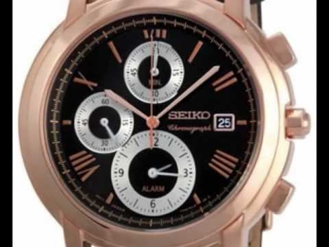 Alarm watch deal - Seiko Chronograph Mens Watch SNAB80P1