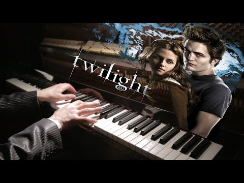 Саундтрек к к/ф Сумерки Twilight Soundtrack - River flows in you (piano cover)