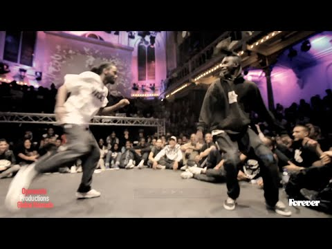 BOUBOO vs FRANKY DEE 1st round battles Hiphop Forever 2014